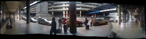 thumbnail of airport arrivals pickup zone panorama