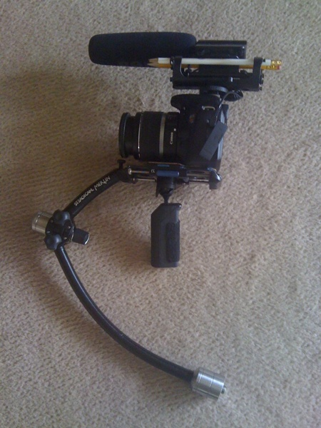 Canon T2i on Steadicam Merlin