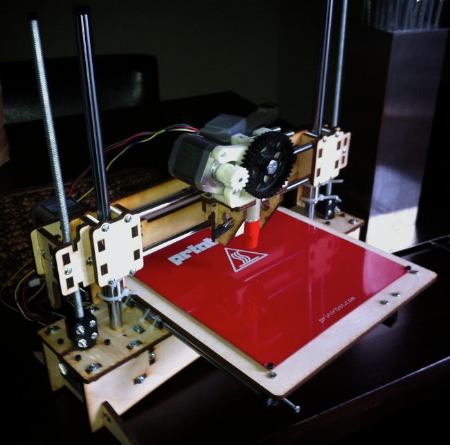 my assembled Printrbot
