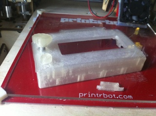 LCD panel and control housing for reprap