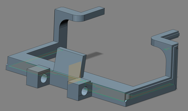Screenshot of the model in Autodesk Inventor Fusion