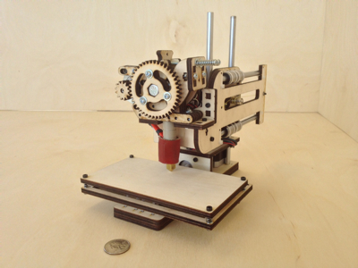 Photo of the Printrbot Simple